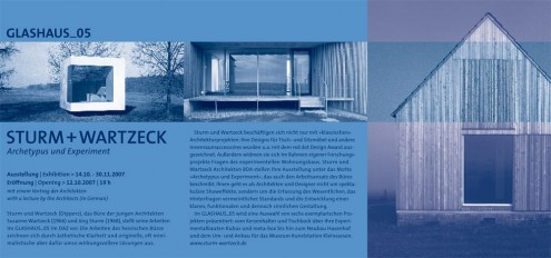 Sturm + Wartzeck Invitation
