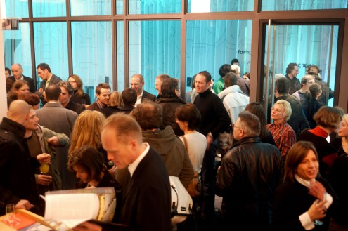 Franken Architekten Exhibition Opening © Till Budde