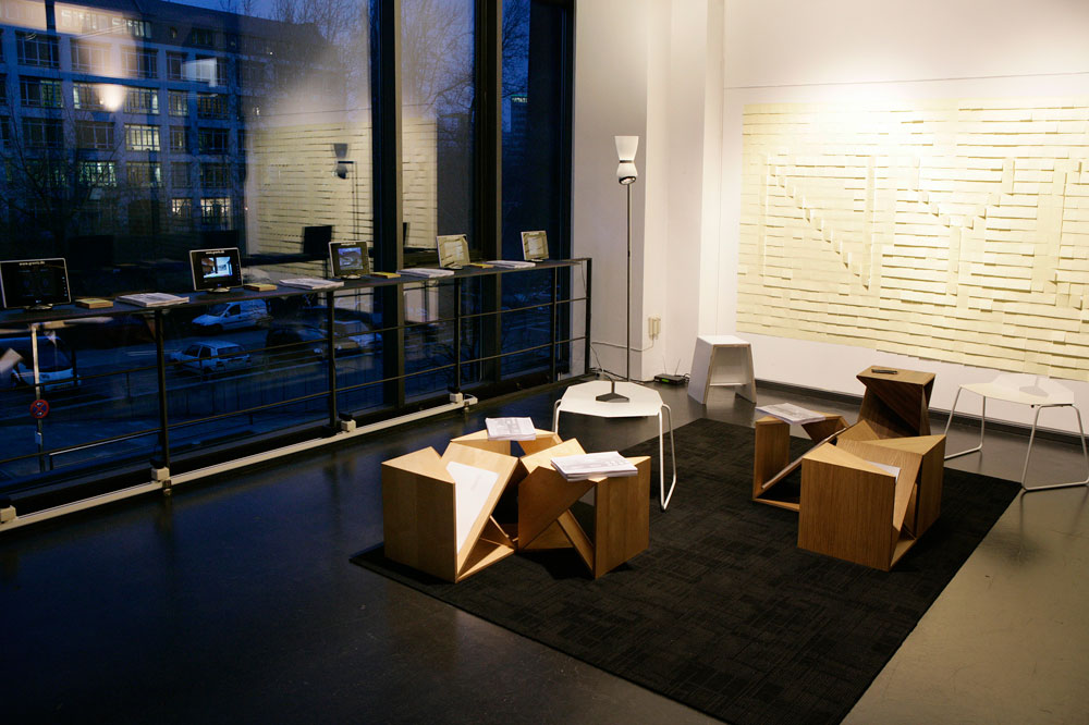 berlin new york dialogues young architects from nyc and designer from berlin at the daz. Black Bedroom Furniture Sets. Home Design Ideas