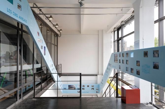 BHSS Architekten Exhibition in the DAZ GLASHAUS © Till BUdde