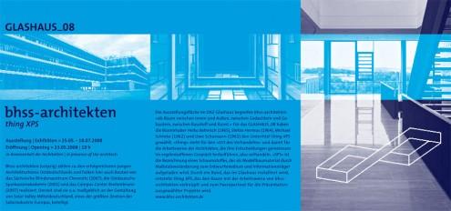 BHSS Architekten Invitation