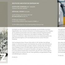 AFF Architekten Flyer
