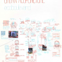 © ECOSISTEMA URBANO Detail Air Tree Project (Exhibition Drawing)