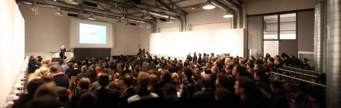 FORMULA_X: VISION Lecture and Discourse with AFF Architects, Plasma Studio and Ecosistema Urbano, Moderated by Kristien Ring© Till Budde