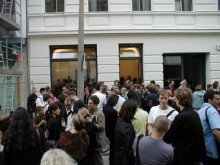 Gallery Opening Suitcasearchitecture
