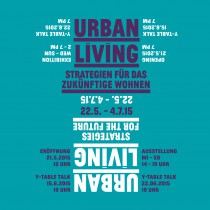 Urban Living exhibition at the DAZ, Berlin - invitation